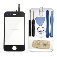 White Touchscreen Touch Screen Digitizer Glass Lens NOFrame For iPhone 3GS Tools
