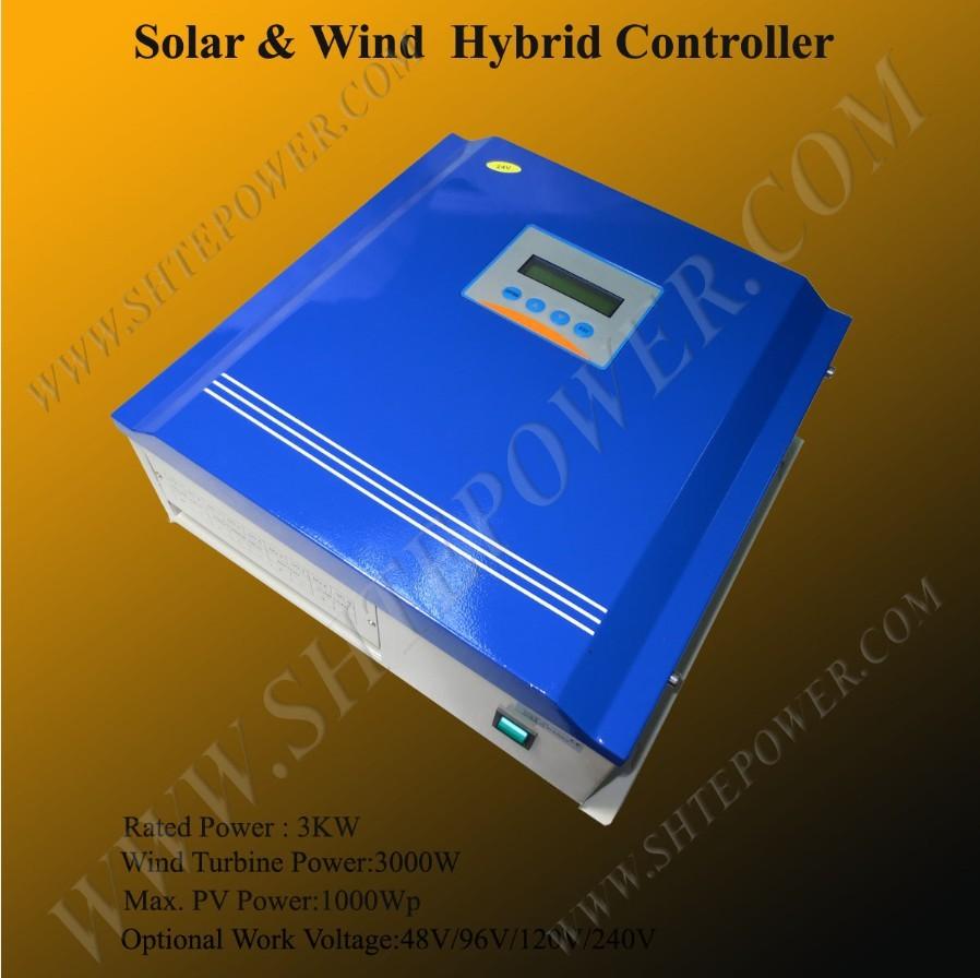 3000w solar regulator controller 96v mppt wind solar charge controller 35a controller(China (Mainland))