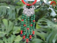 Tibetan jewelry hand-knitted pendant collar