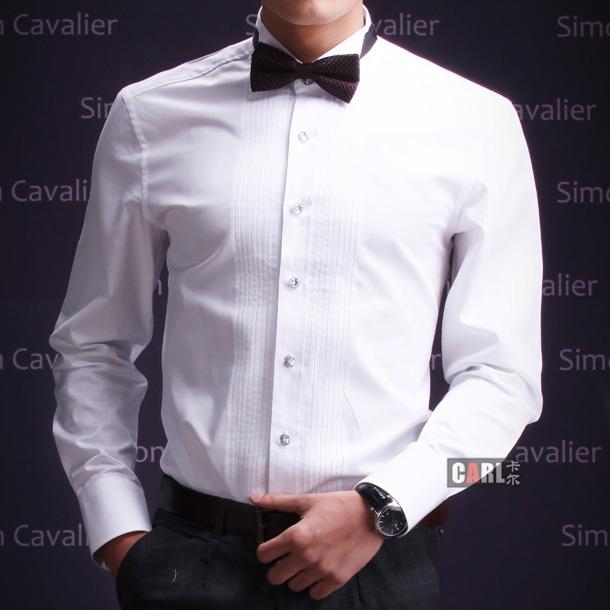 Dress Shirts Formal Suit