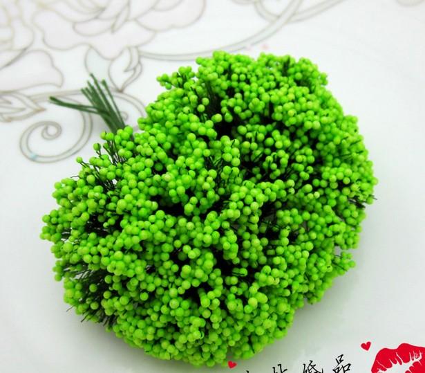288 pçs/saco estrelados Artificial DIY espuma flor haste casamento Invational caixas dos doces presente do partido do favor(China (Mainland))
