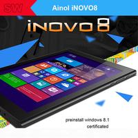"""2014 new Original Ainol iNOVO8 8"""" IPS 1280x800 2GB+32GB Intel T3735d Win8 Tablet PC Dual camera 5.0MP HDMI Bluetooth Office"""