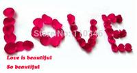 100 PCS / Lot Silk Rose Petals Romantic & Elegant Wedding Decoration Petals Party Club Accessories Rose Petalas 7 Colors