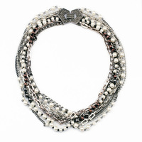 2014 New Luxury Statement High Quality Exaggerated Multilevel Pearl Necklace & Pendants Fashion Accessories Jewelry For Women