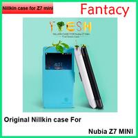 Original NILLKIN Fresh Series Leather Case For ZTE Nubia Z7 MINI Case for Z7 mini