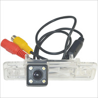 "Hot New Carking Car 1/4"" CCD High Definition Reverse Backup Rear View Camera with 4 LED for Buick Excelle Free shipping"