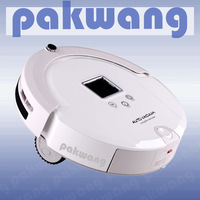 2014 smart robot vacuum cleaners with big dustbin
