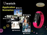 New arrival bluetooth hot sale smart wrist watch pedometer smart watch fashion u watch for samsung galaxy S4 S5 HTC Lenovo