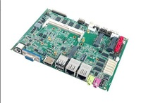 Dual core Intel Cpu 3.5'' industrial motherboard with onboard Ram 2Gb