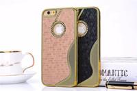 BASEUS Fashion S VIEW Noble business ultrathin sleep /wake up flip Aluminum+TPU Case For Samsung Galaxy S5 G900 + BOX