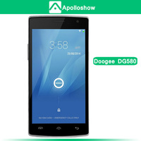 New DOOGEE KISSME DG580 5.5' Screen MTK6582 Quad Core 1.3GHz Mobile Phone Android 4.4 OS 1GB+8GB 8.0MP 3G GPS OTG OTA
