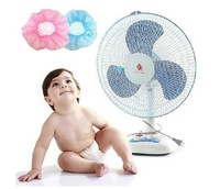 New Blue Pink Child safety supplies reticular fan cover protect baby fingers Protection 10pc\Lot Free Shipping