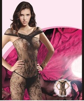 Sexy Lingerie Fishnet Open crotch Body stockings Tights intimates nightwear free shipping