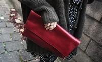New 2014 Fashion women handbags women handbag leather handbags women envelope bag clutch bag women clutch bags clutches