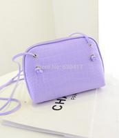 New 2014 Fashion Handbag PU Leather mobile phone candy color mini women messenger bag for vintage girls shoulder bag