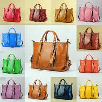 Ladies Leather Shoulder Bags Handbags Tote Stylish Womens 100% Genuine Leather Bag