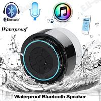 Newest Portable Waterproof Wireless Bluetooth Speaker Shower Car Handsfree Receive Call & Music Suction Phone Mic