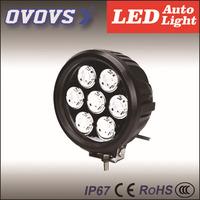 2PCS 6INCH Black Color 70w Led Work Light 12V 24V for OFFROAD SUV TRUCK FREE SHIPPING