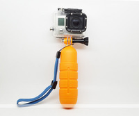 Free shipping floating Bobber Hand Grip Handle +Screw +Wrist Strap For Gopro Hero 2 3 3+