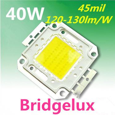 40w LED Lamp Light led 45mil Chips DIY flood lights 120-130lm/w high power led beads(China (Mainland))