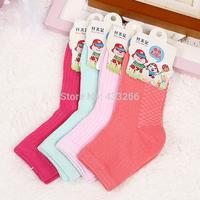 MeetU 40PCS Pure cotton candy style children socks baby socks wholesale cotton striped socks for girls boys kids,free shipping