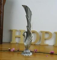 High quality Swan Vases Decoration flower vase metal vases for home decoration crafts