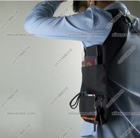 New Safe Anti-Theft Sport Vest Hidden Underarm Shoulder Bag Agent Bond 007 Inspector FBI Holster Phone Case Card Pocket Wallet