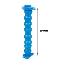 Self Shot 7 Segment Bar Jaws Flex Arm Clamp Mount for Gopro Hero 3+ 3 Cameras Blue