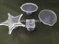 free shipping 4pcs/set  sea star cake decoration baking accessary fondant cutter mold Embosser Tool Set