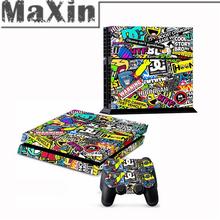 controlador ps4 vinil adesivos decalques para peles ps4 ps4 playstation 4 console vinheta pele controlador decalque ps4 jogos(China (Mainland))