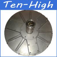 Fedex freeshipping! 2000W 120RPM Disc coreless permanent magnetism vertical axis alternator/wind generator motor