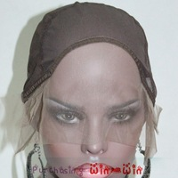 Glueless Front Lace Wig Cap French Lace Front Stretchy Net Back Wig Caps Durable Comfort !!  3pcs/lot