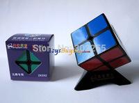 10pcs/lot  Shengshou Aurora 2x2 speed cube competition edition magic cube White/Black Free Shipping