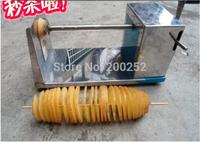 Wholesale ! New manual Tornado potato machine potato spiral cutting machine potato cutter machine potato chips machine 20pcs