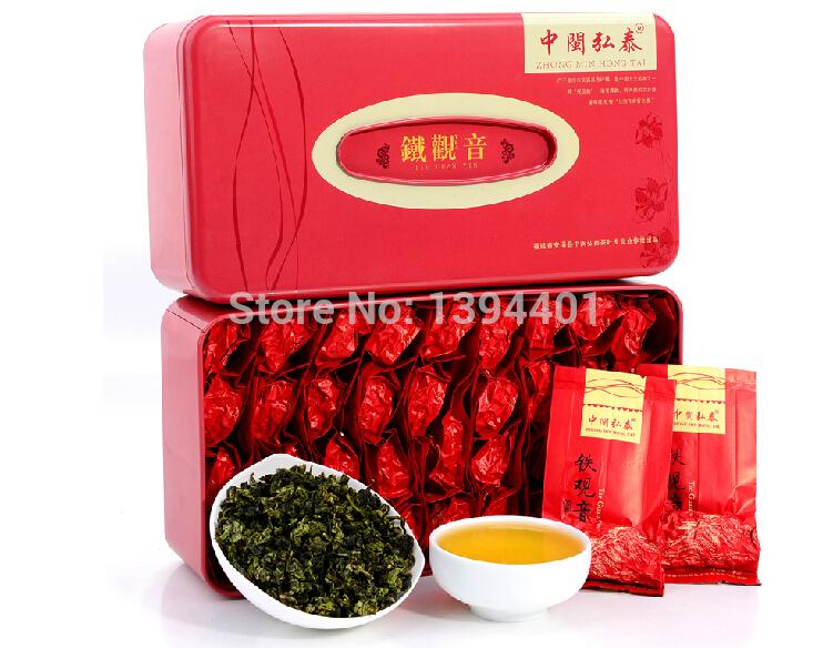 2014 TiKuanYin Tea Oolong Tea 0.5kg Loose Tea flavor Chinese Tea Traditional crafts(China (Mainland))