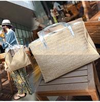 Free shipping Bohemia style women's handabgs large capacity beach shoulder bag leisure Retro grass waving bags
