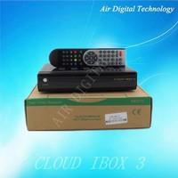 cloud ibox 3 Linux OS full HD 1080P satellite receiver iptv set top box dvb-t2 dvb-s2 dvb-c