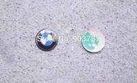 MIX 500pcs Lowest  11mm resin / aluminum BM Key Fob Remote Badge Logo Emblem Sticker 1 3 5 6 serie