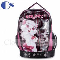 Portuguesa Original Brand Durable Kid  Girl Cartoon Cat School Bag Student Backpack Student Book Bag Kids Backpack Mochila