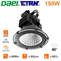 Daei ETRN Brand 2014 new Waterproof 150W LED High Bay Lights LED Mining lamps LED Industrial Lights 3020 LED Free Shipping