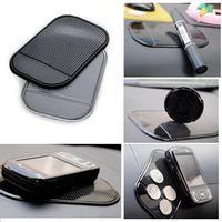 Top Quality Cheap Powerful Car Mount Dashboard Sticky Pad Magic Anti-Slip Non-Slip Mat Phones GPS Coin Gadget Holder Grip Black