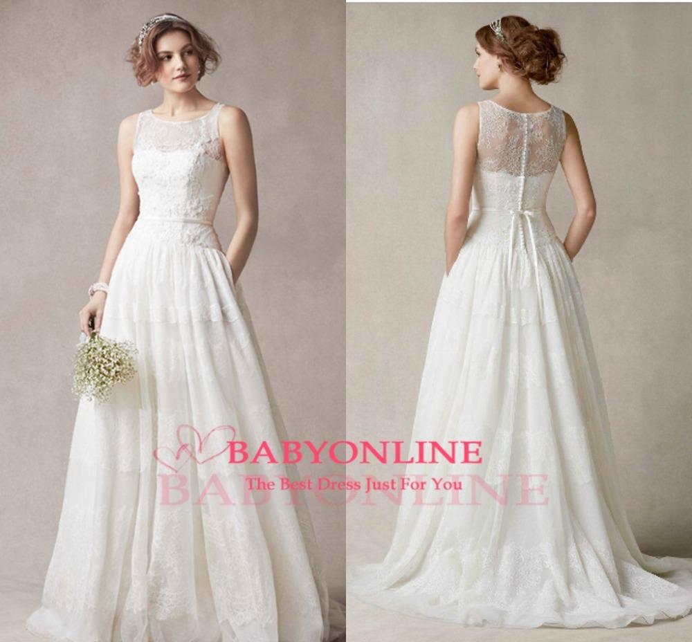 Hippie Style Vintage Wedding Dresses style hippie wedding dress