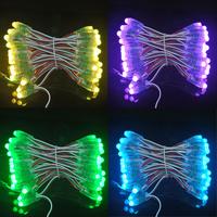 Holiday lighting 100pcs/lot 12mm ws2811 led pixel colorful  led pixel IP65 dc5v waterproof  module