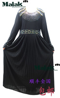 Free shipping  kaftan jilbabs and Islamic clothing for woman new fashion abaya muslim abaya