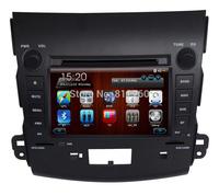 "Free shipping 7"" Car DVD GPS for Mitsubishi Outlander (2006-2011) Head unit Navigation TV Ipod Bluetooth Radio SD/USB CAN-BUS"