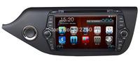 "8"" Car DVD GPS for Kia Ceed 2013  Head unit Navigation TV Ipod Bluetooth Radio SD/USB 3G Free GPS map Free shipping"