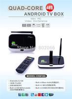 CS918S Andriod 4.2 Smart TV Box Quad Core 2GB RAM 16GB ROM Built in 5.0MP Camera XBMC Bluetooth 3G 4K WIFI Android TV Box CS918S