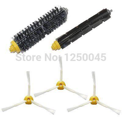 Escova 3-armado lateral para iRobot Roomba 600 700 Series 620 630 650 660 760 770 780 790 grátis frete(China (Mainland))
