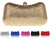 New Women Evening Bags Crystal Clutch Wedding Bags And Evening Bag Small  Handbag Shoulder 6 Color Purse Bag