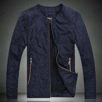 MEN casual jacket 2014 spring and autumn thin man jacket slim coat plus size 5XL